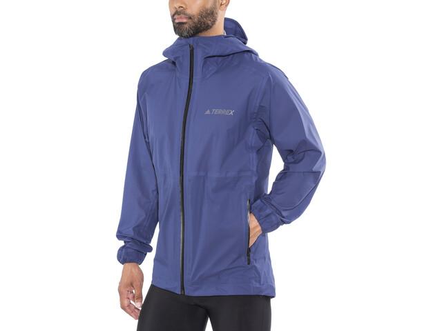 presenting new collection get cheap adidas TERREX Agravic 3L Jacket Men noble indigo
